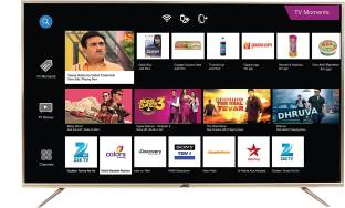 JVC 164 cm (65 inch) Ultra HD (4K) LED Smart Android TV