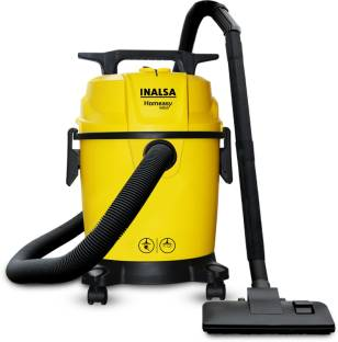 Inalsa Homeasy WD10 Wet & Dry Vacuum Cleaner with Anti-Bacterial Cleaning