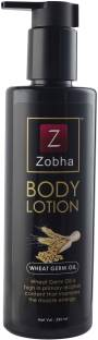 Zobha BODY LOTION with Pure Wheat Germ Oil - SPF Spf 50 PA+