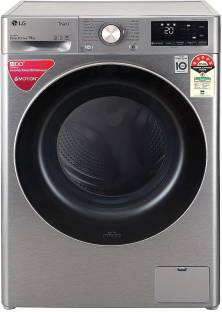 LG 9 kg Fully Automatic Front Load Silver