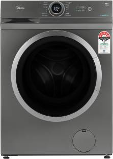Midea 7 kg 5 Star Fully Automatic Front Load with In-built Heater Grey