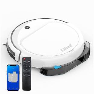 LIBRA JORC03-JD Robotic Floor Cleaner with 2 in 1 Mopping and Vacuum, Reusable Dust Bag (WiFi Connecti...
