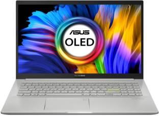ASUS VivoBook K15 OLED (2021) Ryzen 5 Hexa Core 5500U - (8 GB/1 TB HDD/256 GB SSD/Windows 10 Home) KM5...