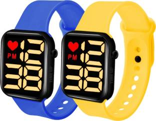 Time Up Fancy Combo of 2 LED Kids Watches Smartwatch