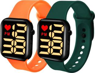 Time Up Classic Combo of 2 LED Kids Watches Smartwatch