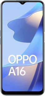OPPO A16 (Pearl Blue, 64 GB)