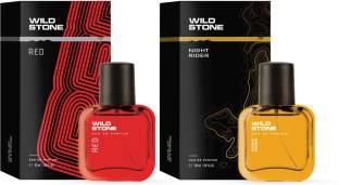 Wild Stone Night Rider and Red Perfume Combo (30ml each) Eau de Parfum  -  60 ml