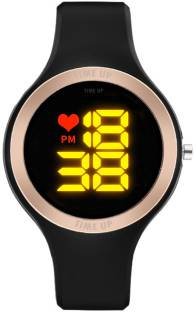 Time Up New Ring Design LED Display Watch Smartwatch
