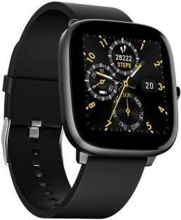 Noise ColorFit Qube SpO2 Charcoal Grey Smartwatch