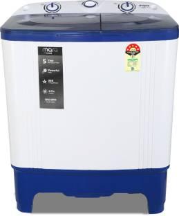 MarQ By Flipkart 7 kg Semi Automatic Top Load Blue, White