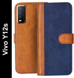 Knotyy Flip Cover for Vivo Y12s, Vivo Y20, Vivo Y20i, Vivo Y20G, Vivo Y20A