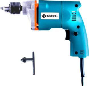 BUILDSKILL Professional Powerful Heavy Duty Home DIY High Quality Electric BED1100_Blue Pistol Grip Drill