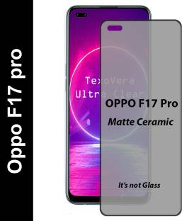 TexoVera Edge To Edge Tempered Glass for Oppo F17 pro