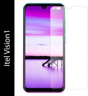 EASYBIZZ Tempered Glass Guard for Itel Vision1