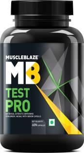 MUSCLEBLAZE Test Pro- Natural Testosterone Booster Supplement for Men