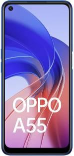 OPPO A55 (Rainbow Blue, 64 GB)