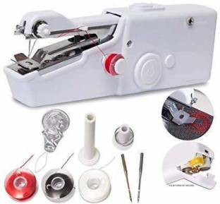 Lusche Cordless Mini Sewing Machine In Home Non Electric Hand Sewing Machine For Home Stitch Portable Stitching Silai Manual Sewing Machine