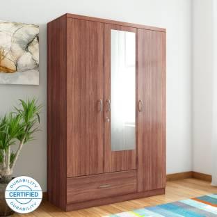 Hometown Ultima Engineered Wood 3 Door Almirah
