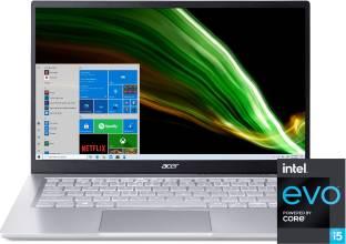 Acer Swift 3 Intel Evo 11th Gen Core i5 - (8 GB/512 GB SSD/Win 10 Home/Intel Iris Xe Graphics) SF314-5...
