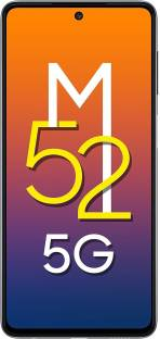 SAMSUNG Galaxy M52 5G (Blazing Black, 128 GB)