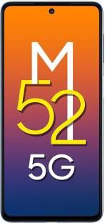 SAMSUNG Galaxy M52 5G (Icy Blue, 128 GB)