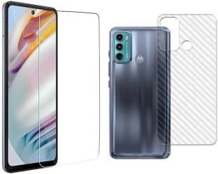 Bodoma Front and Back Tempered Glass for Motorola E40, Moto E40