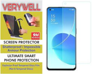 Verywell Tempered Glass Guard for OPPO Reno6 pro 5G