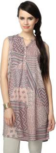 People Printed Women's A-line Kurta