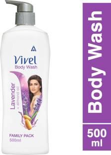 Vivel Body Wash, Lavender & Almond Oil Shower Creme Pump
