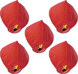 SantaStores Chinese Red Paper Sky Lantern