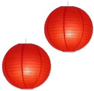 NxtGen Red Paper Table Lantern