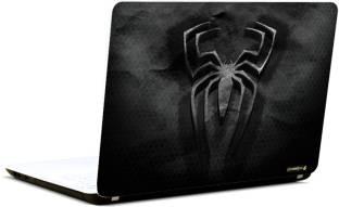 balaji enterprise black spider man logo vinyl laptop decal 15 6