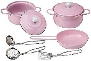 Jaibros Stainless Steel Kitchen Set Series For Girls Price In India