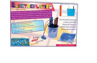 Cooljunk physics project kit kirchhoffs ohms laws price in junior scientist electroplating kit solutioingenieria Choice Image