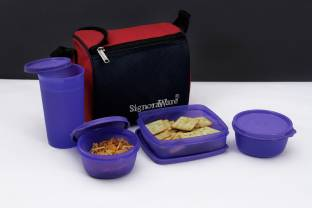 Signoraware 513 Best 4 Containers Lunch Box