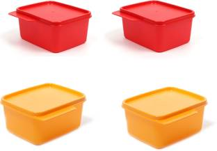 Tupperware KEEP TAB 4 Containers Lunch Box