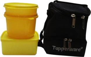 Tupperware Trendy Lunch 3 Containers Lunch Box