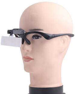 a97b422da4c2 SJ Head 2led Jewelry Magnifying Glass 1x 1.5x 2x 2.5x 3.5x Magnifier