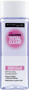 MAYBELLINE NEW YORK Clean Express Total Clean Express Eye & Lip Makeup Remover Makeup Remover