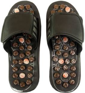5b39fd08dc9 Craft Art India AA-CAI-HD-0022 Wooden Relaxing Acupressure Slippers ...