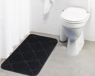 Lushomes Microfiber Bath Mat Anti Rubber Coated