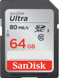 Sandisk Ultra 533x 64 Gb Sdxc Cl10 80 Mb S Memory Card