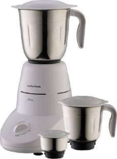 Morphy Richards Elite Essential 640058 500 W Mixer Grinder (3 Jars, White)