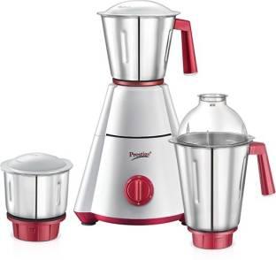 Prestige Nakshatra plus 750 W Mixer Grinder (3 Jars, white and red)