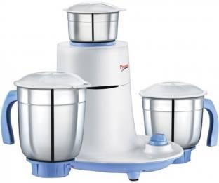 Prestige mist 550 W Mixer Grinder (3 Jars, White, Blue)