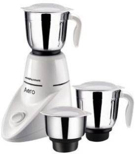 Morphy Richards Aero New 500 W Mixer Grinder (3 Jars, White)