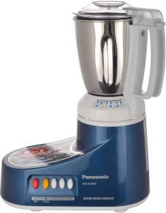 Panasonic MX-AC300S Super Mixer Grinder 550 W Mixer Grinder (3 Jars, Blue)