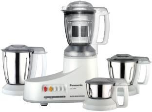 Panasonic MX AC 400 550 W Mixer Grinder (4 Jars, White)