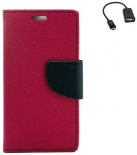 YGS Dairy Wallet Case Cover For Motorola Moto G2 (2nd Generation) with Micro OTG
