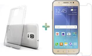 Aspir Samsung Galaxy On7 Back Cover With Samsung Galaxy On7 Tempered Glass ( High Power Glass) Accessory Combo